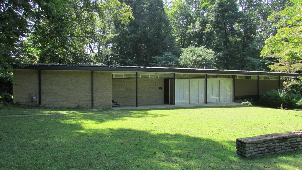 its the first time this home has been on the market since it was built in 1955 like many mid century modern homes it features an open floor plan