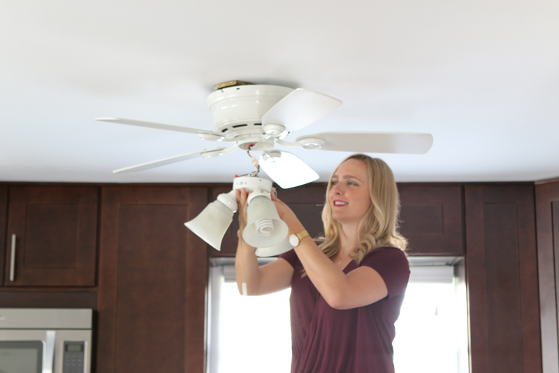 How to replace a ceiling fan build realty install the ceiling bracket aloadofball Gallery